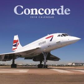New Concorde Calendar 2018