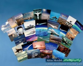 25 Concorde Postcards plus 1 Limited Signed A5 Postcard