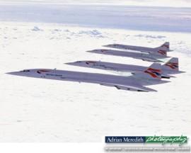 Concorde Formation - 20x16