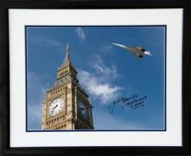 Concordes Last Flight over Big Ben London